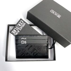 ⭕️ VERSACE JEANS Men's Card Holder Wallet